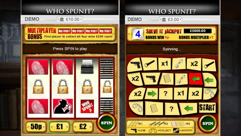 Who Spun It mobile slot
