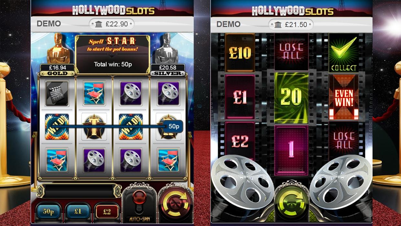 Hollywood Slots mobile slot