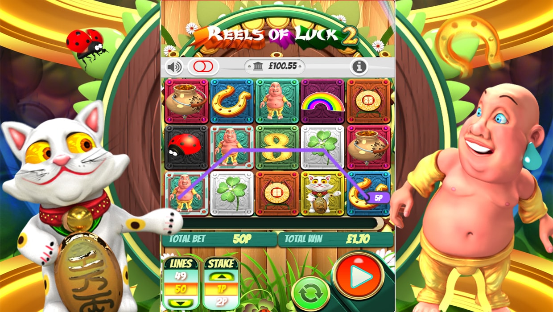 Reels Of Luck 2 mobile slot