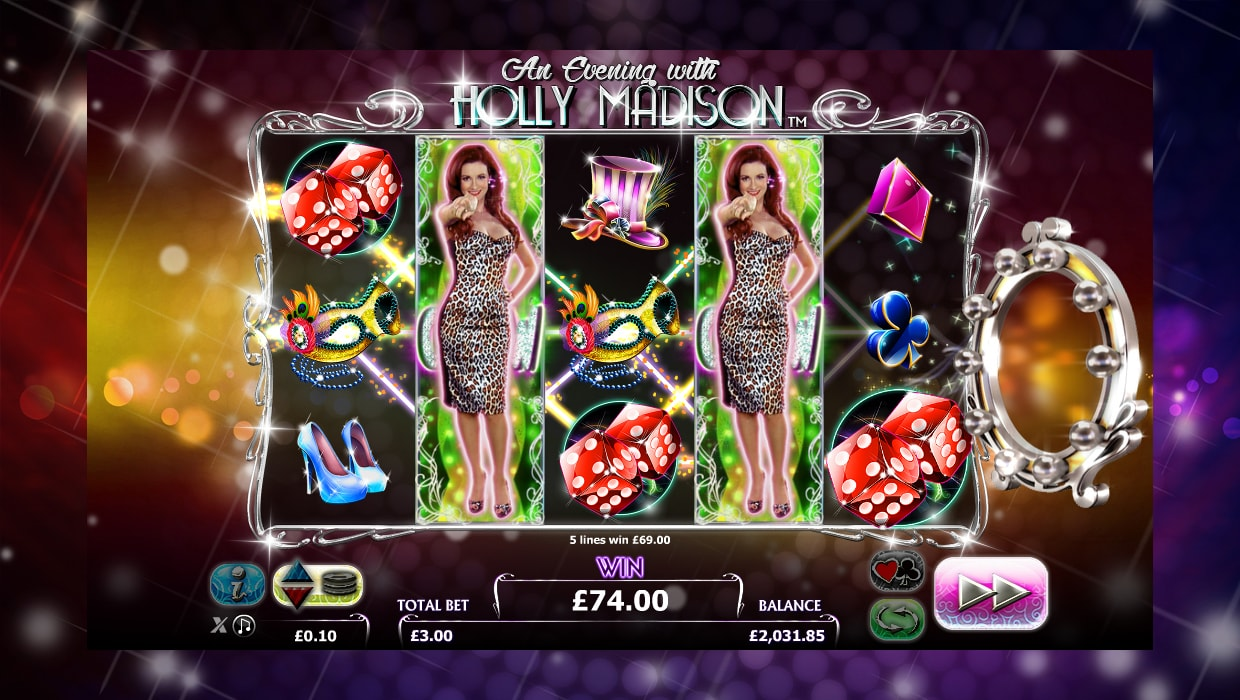 An Evening with Holly Madison mobile slot