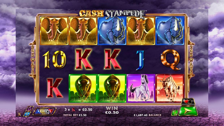 Cash Stampede mobile slot