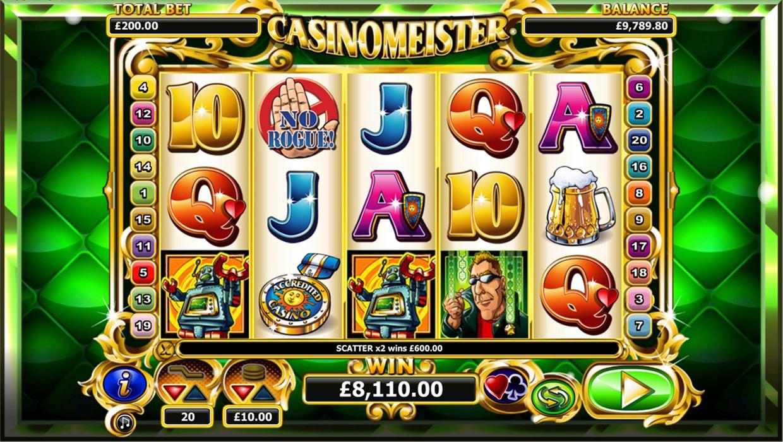 Casinomeister mobile slot