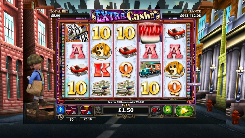 Extra Cash!! Mobile slot