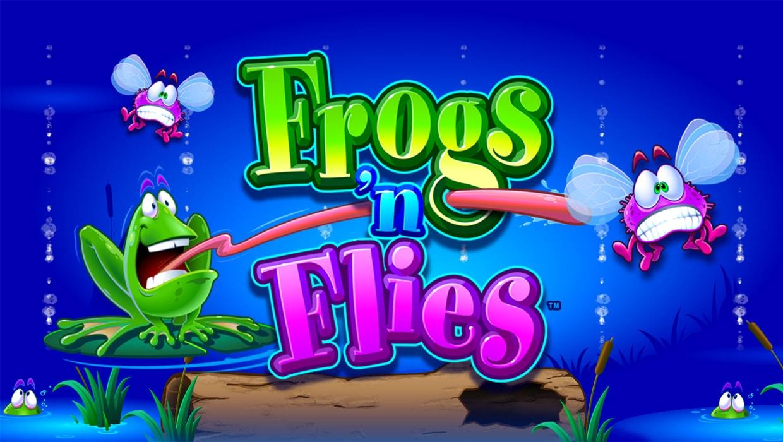 Frogs 'n Flies mobile slot