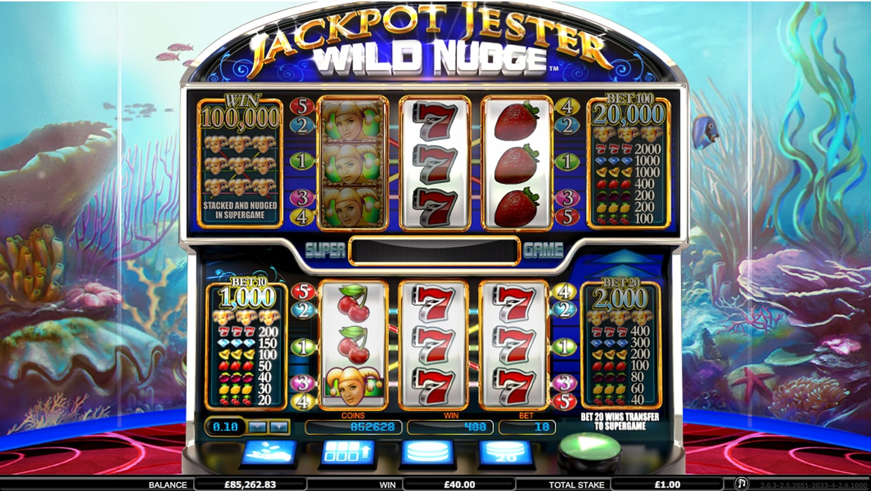 Jackpot Jester Wild Nudge mobile slot