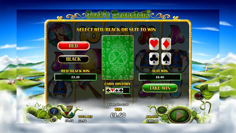 Jack's Beanstalk mobile slot