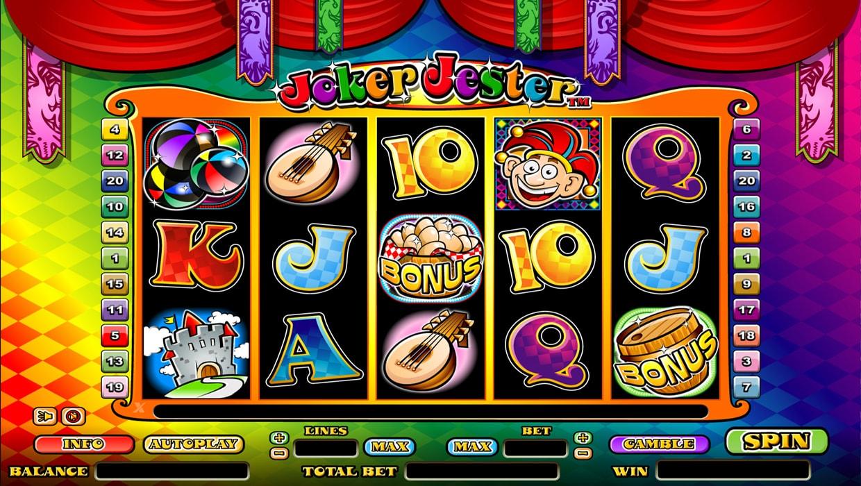 Joker Jester mobile slot