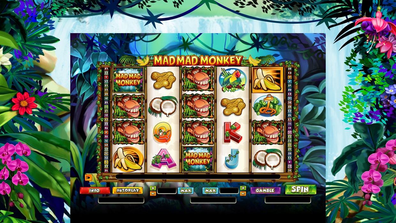 Mad Mad Monkey mobile slot