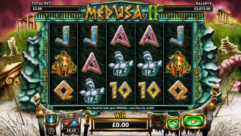 Medusa II mobile slot