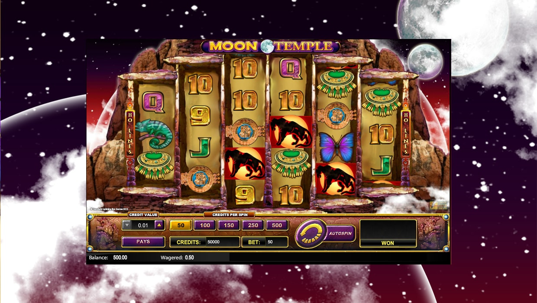 Moon Temple mobile slot