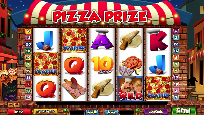 Pizza Prize mobile slot