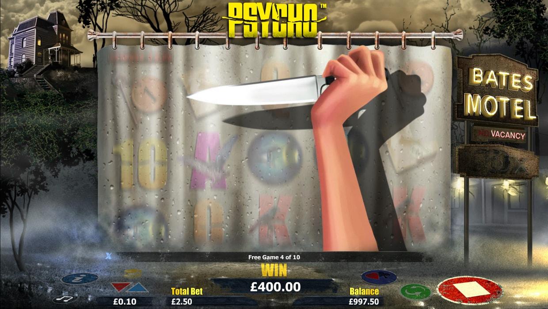 Psycho mobile slot