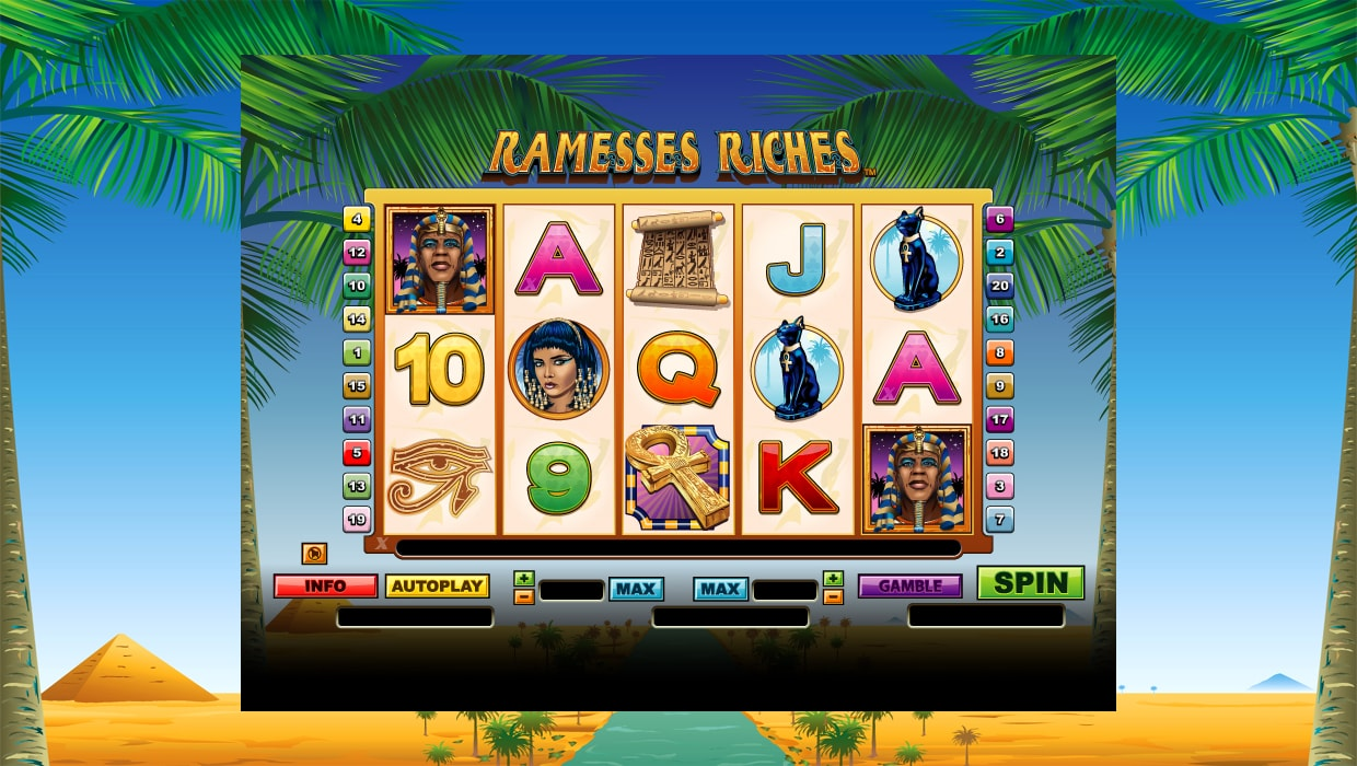 Ramesses Riches mobile slot