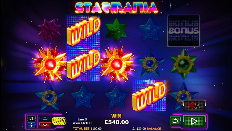 Starmania mobile slot