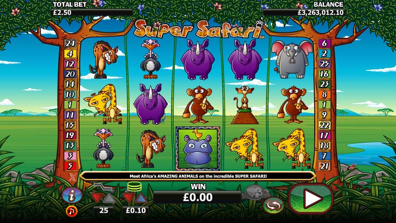 Super Safari mobile slot
