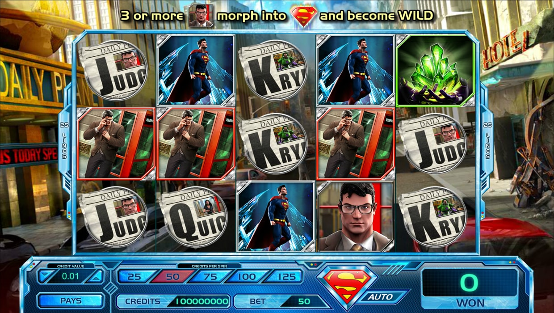 Superman Last Son of Krypton mobile slot