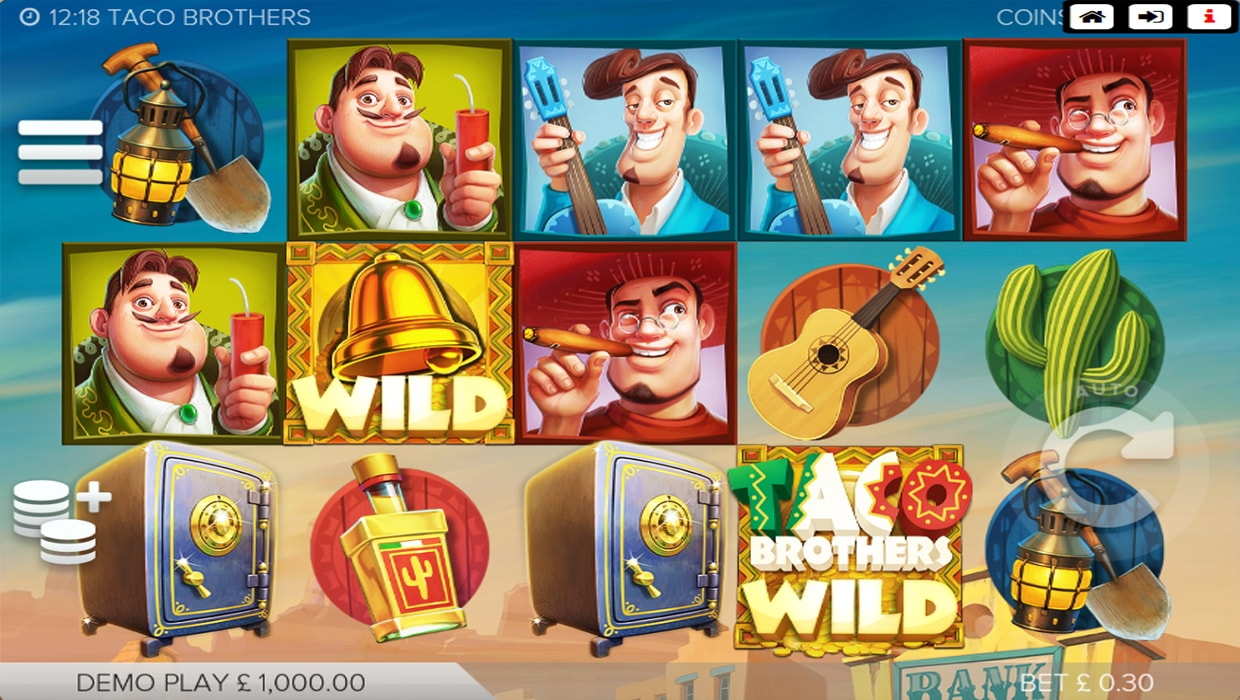 Taco Brothers mobile slot