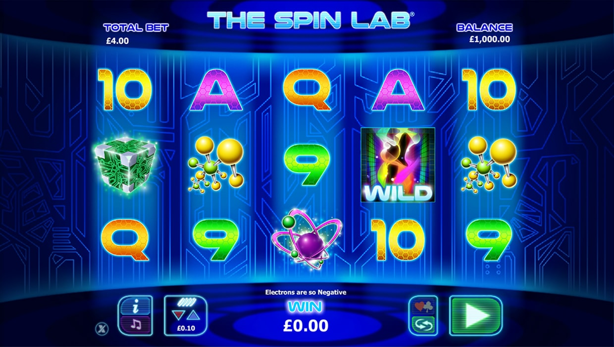 The Spin Lab mobile slot