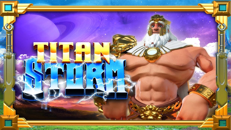 Titan Storm mobile slot