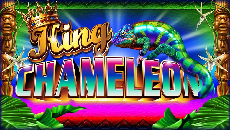 King Chameleon mobile slot