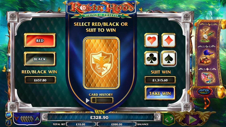 Robin Hood - The Prince of Tweets mobile slot
