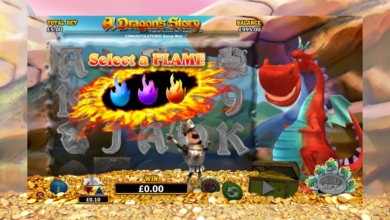 A Dragon's Story mobile slot