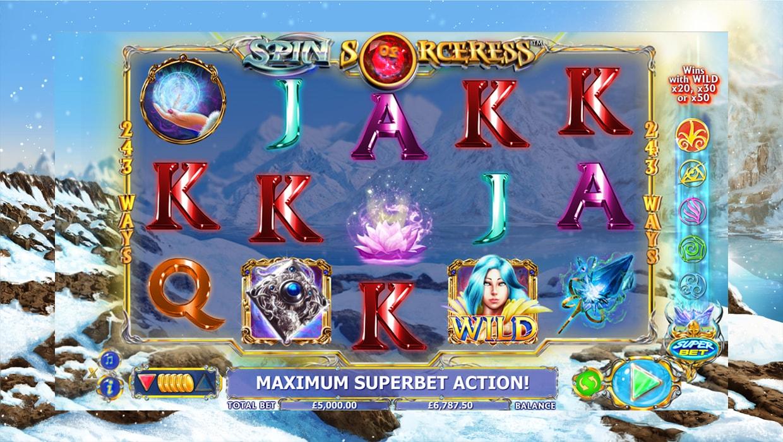 Spin Sorceress mobile slot