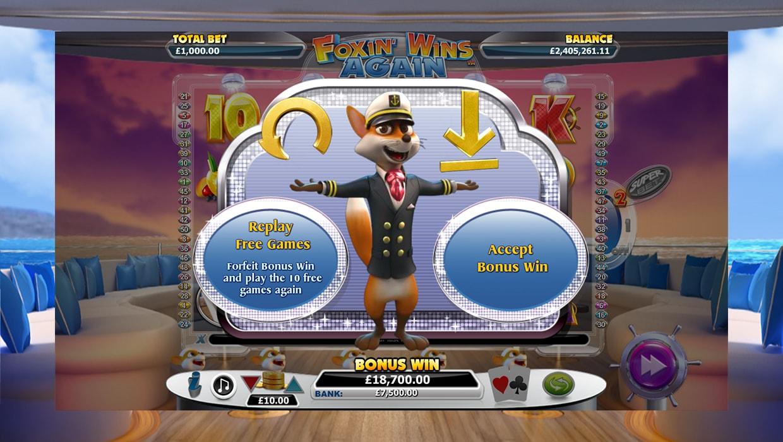 Foxin Wins Again mobile slot