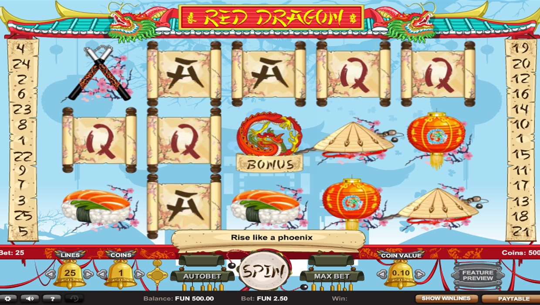 Red Dragon mobile slot