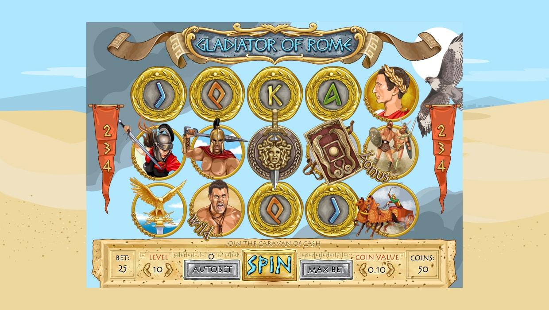 Gladiator of Rome mobile slot