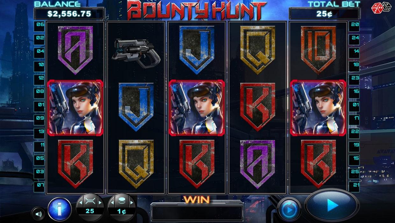 Bounty Hunt mobile slot