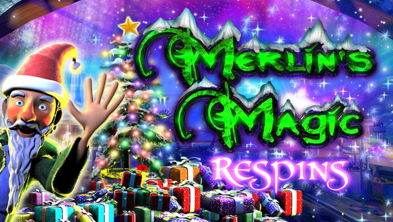 Merlins Magic Respins Christmas mobile slot