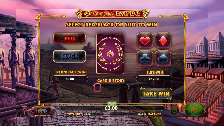 Glorious Empire mobile slot