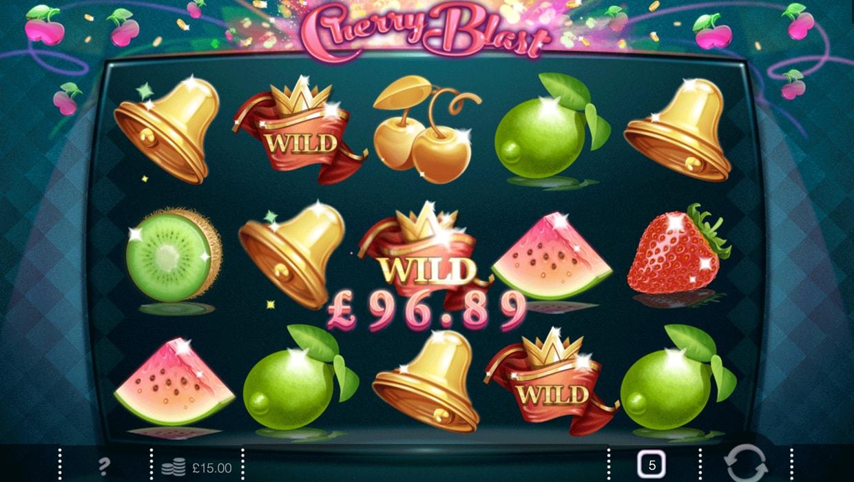 Cherry Blast mobile slots