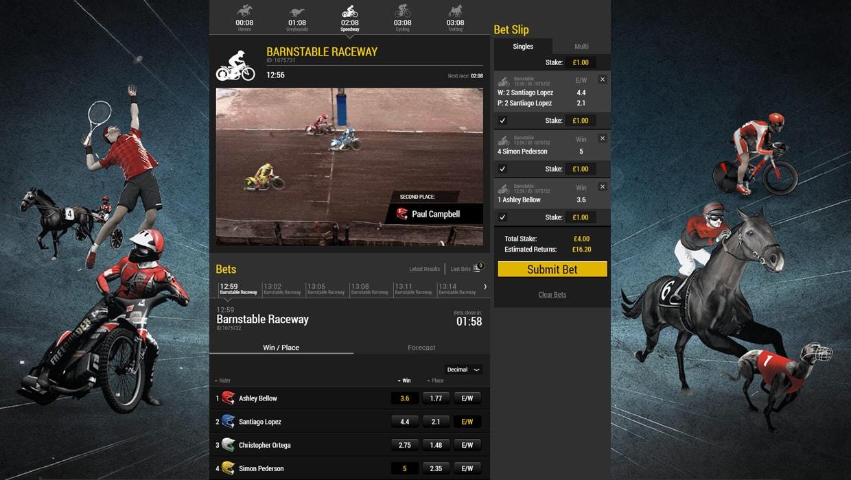 Virtual Racing - Speedway