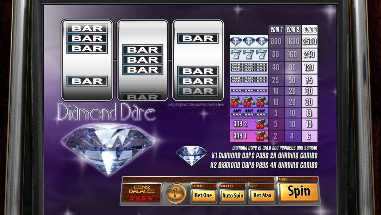 Diamond Dare mobile slot
