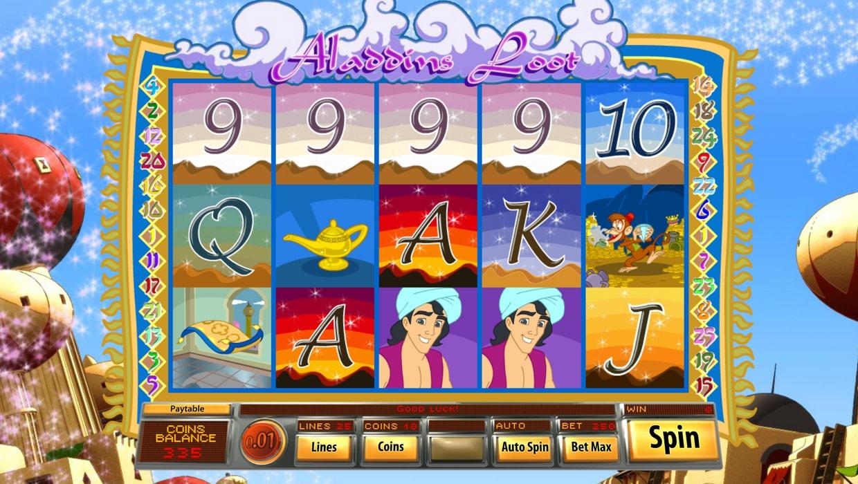 Aladdin's Loot mobile slot