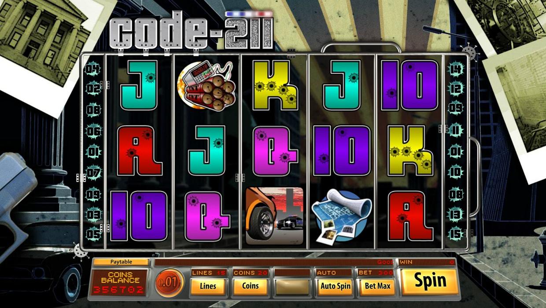 Code 211 mobile slot