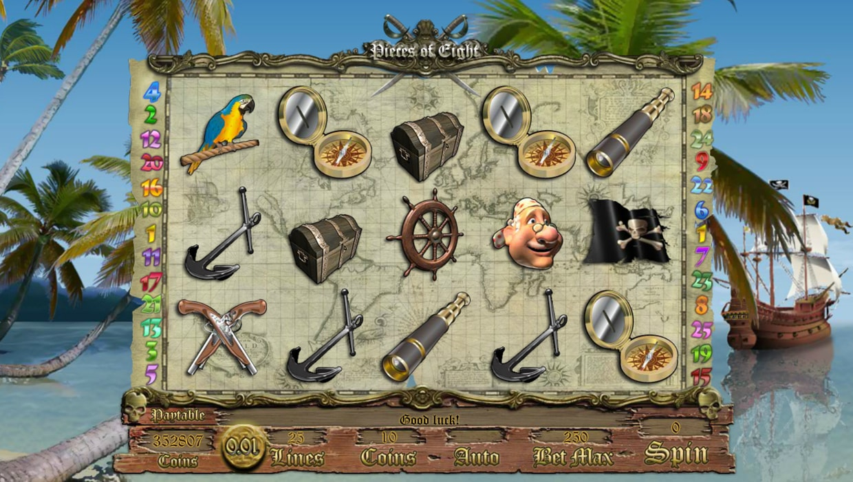 Pieces Of Eight mobile slot