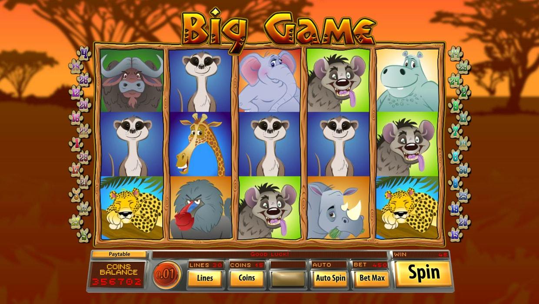 Big Game mobile slot