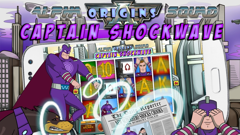 Alpha Squad Origins Captain Shockwave