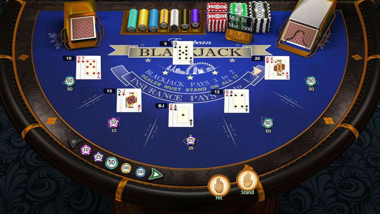 European Blackjack Elite Edition