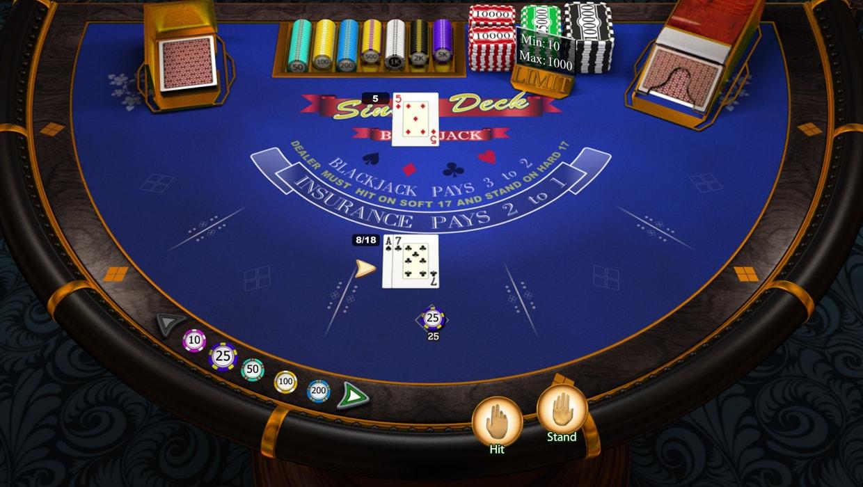SP Single Deck Blackjack Elite Edition