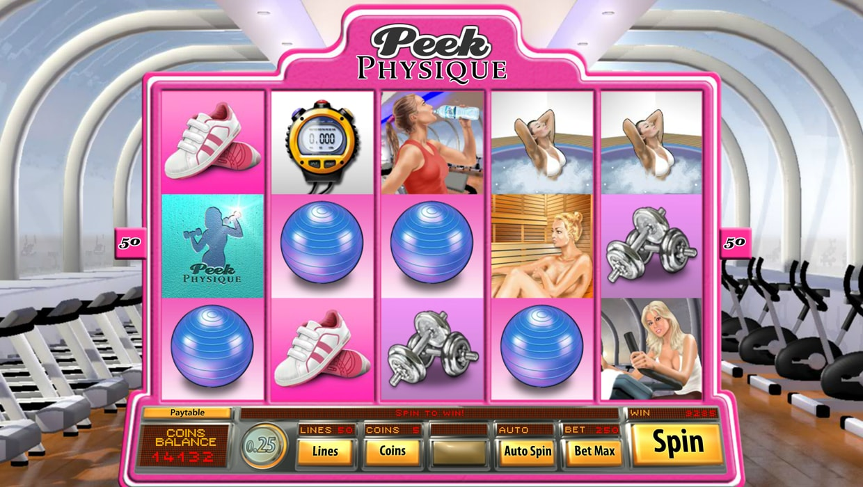Peek Physique mobile slot