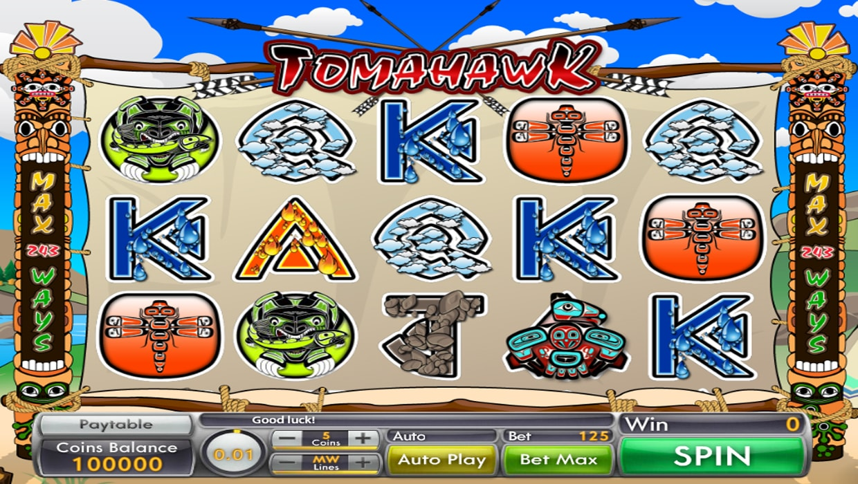 Tomahawk mobile slot