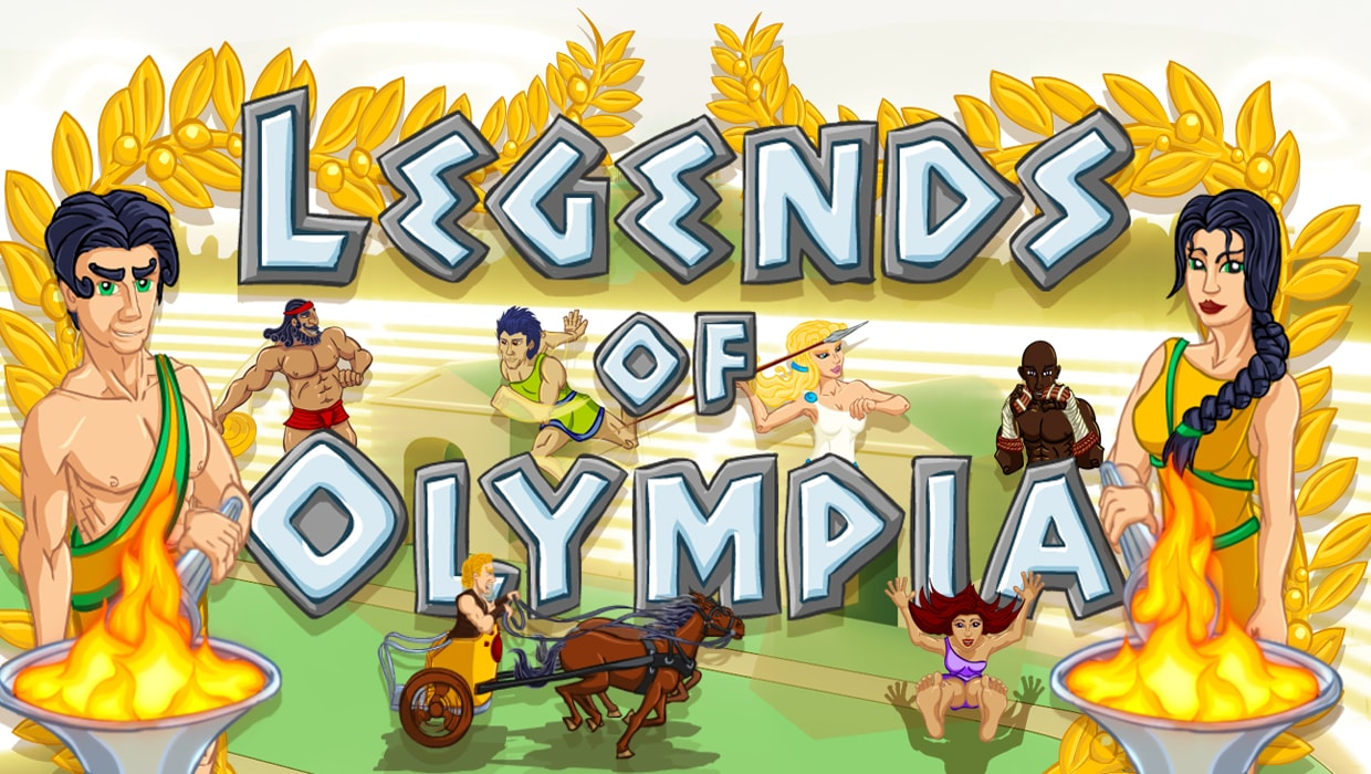 Legends Of Olympia mobile slot