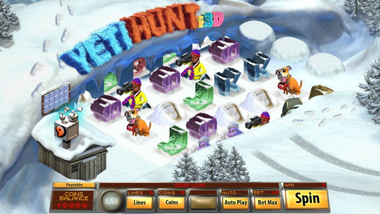 Yeti Hunt i3D mobile slot