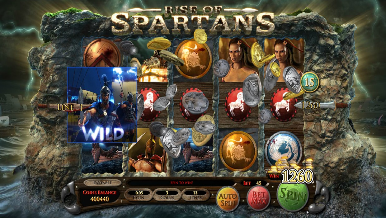 Rise Of Spartans mobile slot