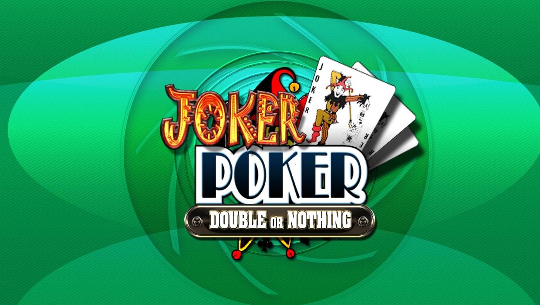 Joker Poker Double Or Nothing VideoPoker